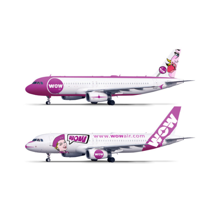 Wow Air - Livrea 1