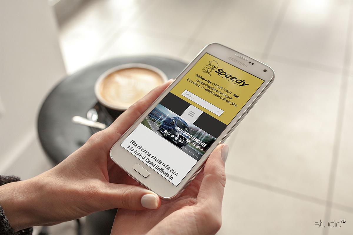 Speedy Noleggi srl - Sito web mobile
