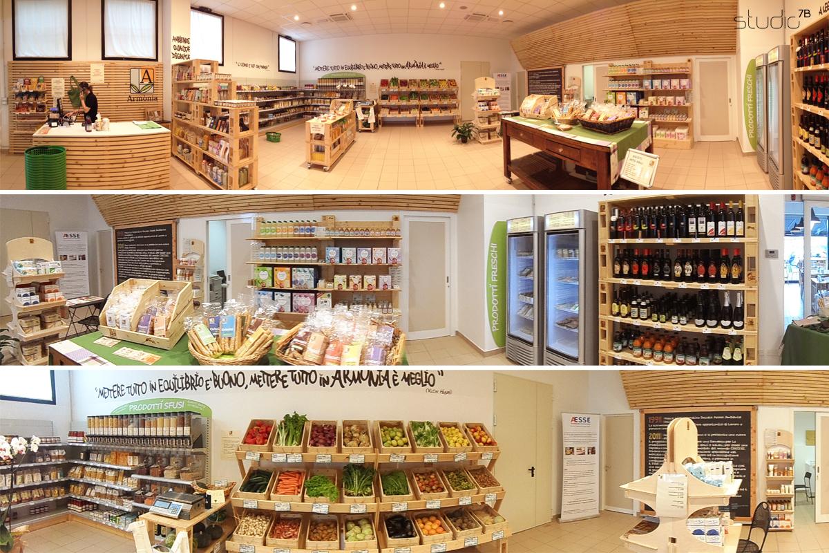 Armonia store interior design