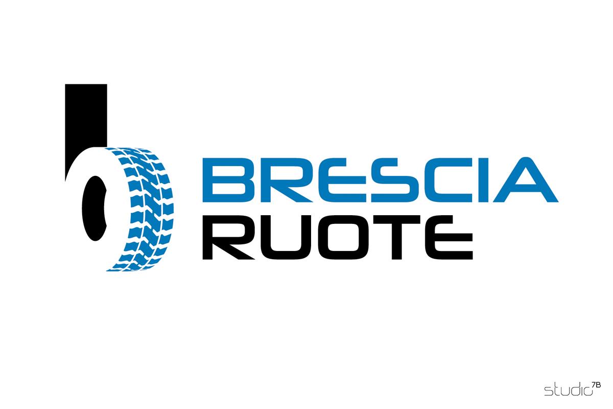 BRESCIA RUOTE logo design