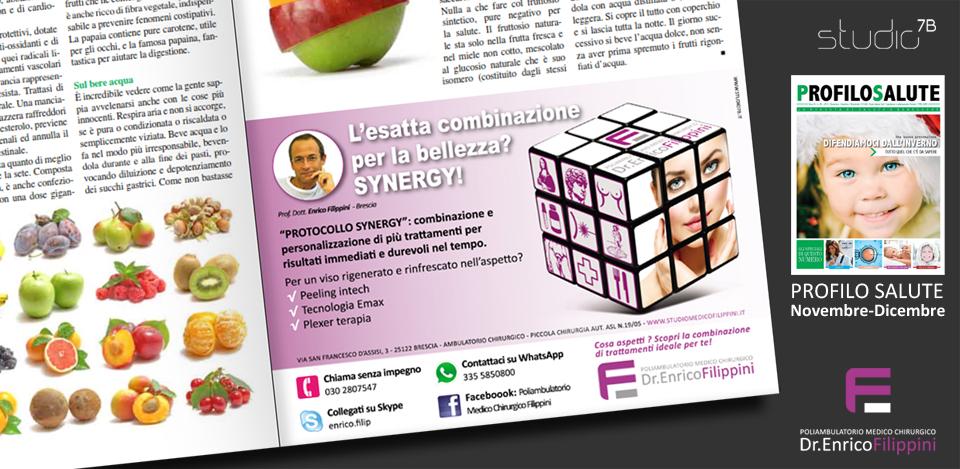 Dr. Enrico Filippini - grafiche pubblicitarie
