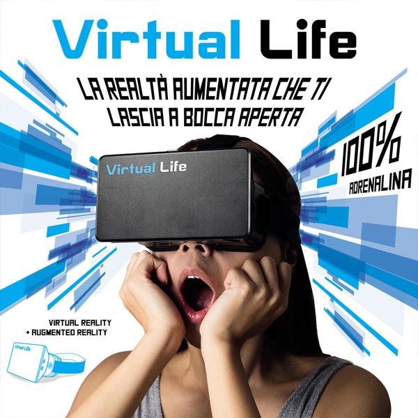 virtual life con oculis - comunicazione grafica by studio7b brescia